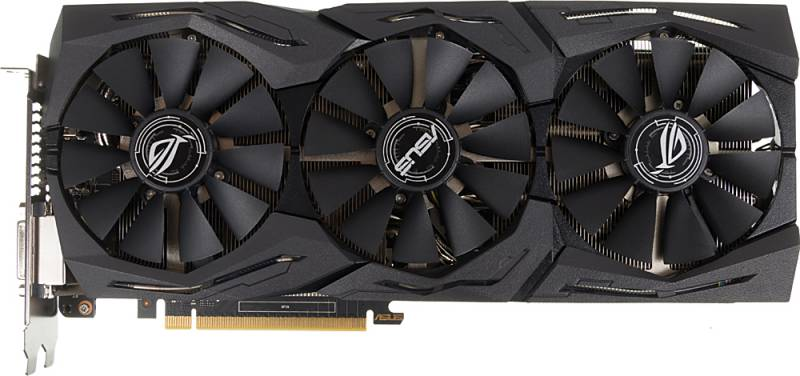 Видеокарта Asus PCI-E STRIX-GTX1060-6G-GAMING