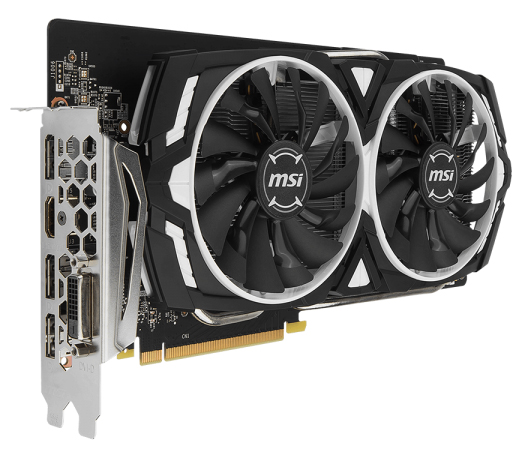 Видеокарта MSI PCI-E GeForce