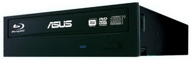 Привод Blu-Ray-RW Asus BW-16D1HT/BLK/G/AS