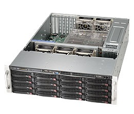 Корпус SuperMicro CSE-836BE1C-R1K03B 2x1000W
